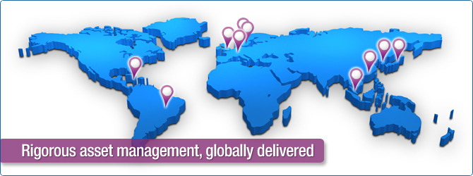 rigorous asset management, globally delivered